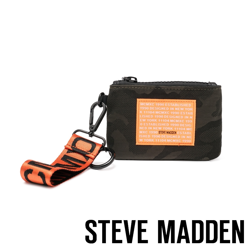 STEVE MADDEN-BRICHIE 時尚潮流款 字母零錢包-迷彩