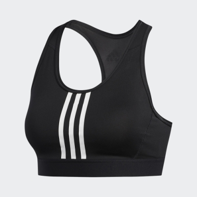 adidas 運動內衣 中度支撐 瑜珈 慢跑 健身 女款 黑 FJ7248 Dont Rest Bra