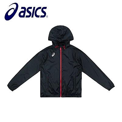 Asics 亞瑟士 男女風衣外套 黑 K11801-90