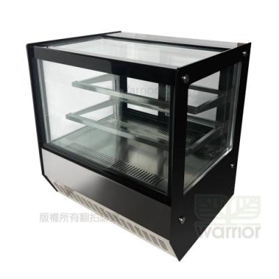 Warrior 2尺4 直角玻璃蛋糕櫃 (HM700F-P-HG)