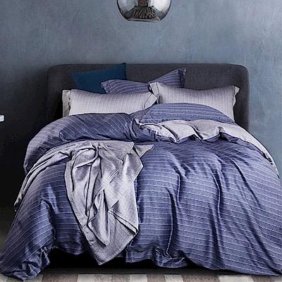 Ania Casa 晚雲 天絲 100% TENCEL 加大鋪棉兩用被套床包四件組