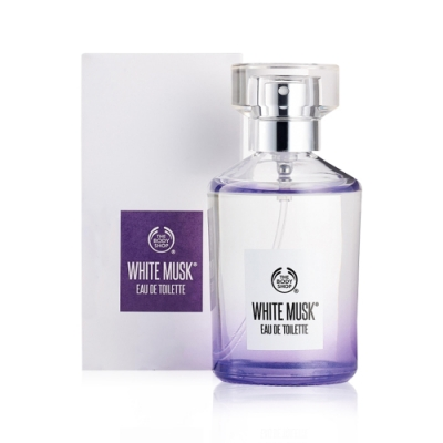 THE BODY SHOP 白麝香淡香水 60ml