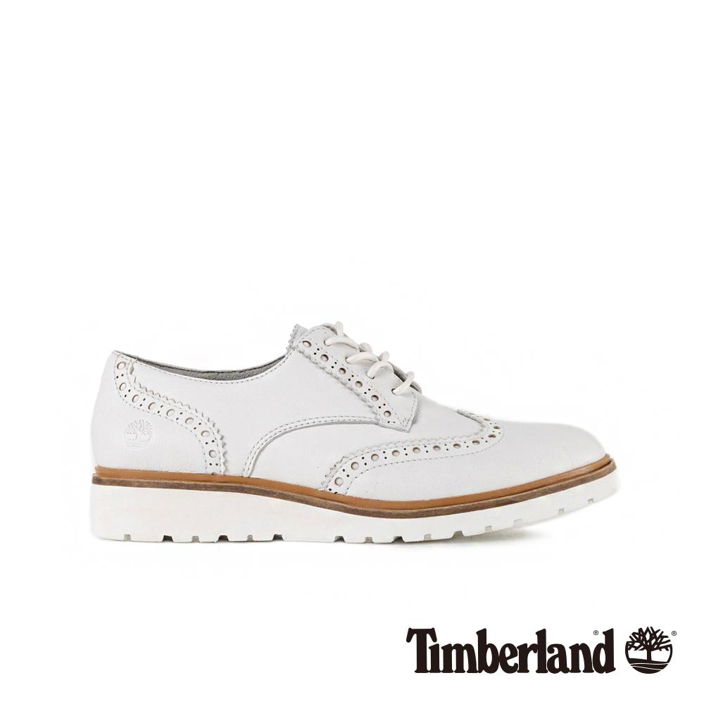 Timberland 女款白色牛津鞋 | A1PKCL77 @ Y!購物