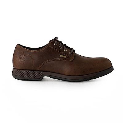 Timberland 男款黑色全粒面皮革休閒鞋 | A1SNKD25