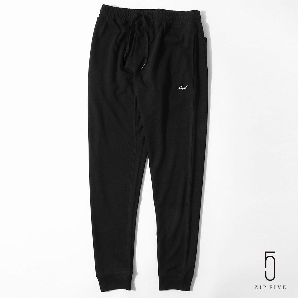 ZIP日本男裝 KANGOL 品牌刺繡運動褲(10色) product image 1