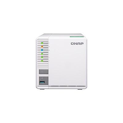 (無卡分期)【促銷組合】QNAP TS-328 網路儲存伺服器+WD 2TB*2
