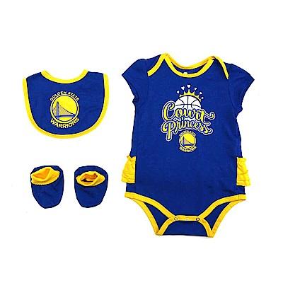 NBA 新生兒包屁衣組合 勇士隊 12-24M