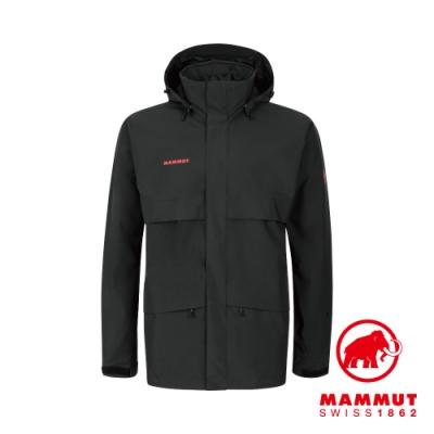 【Mammut】Heritage HS GTX 防水外套 黑色 男款#1010-27720