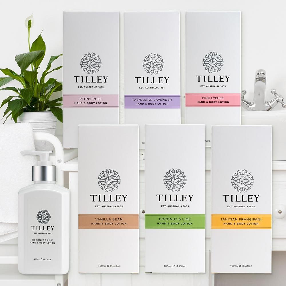 【Tilley 百年特莉】澳洲原裝香氛保濕潤膚乳液400ml(共6款可任選)