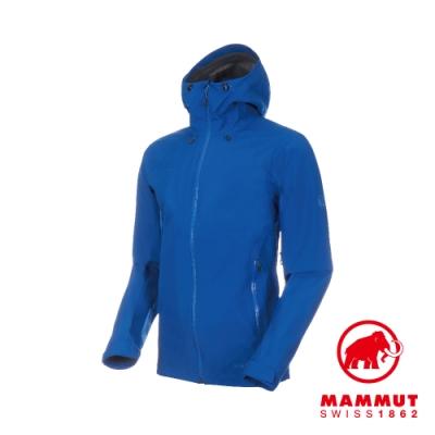 【Mammut 長毛象】Convey GTX 連帽外套 海浪藍 男款#1010-26032