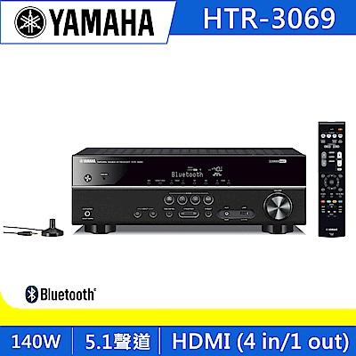 Yamaha山葉 5.1聲道AV擴大機 HTR-3069