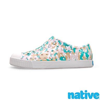 native 小童鞋 JEFFERSON 小奶油頭鞋-金平糖粉