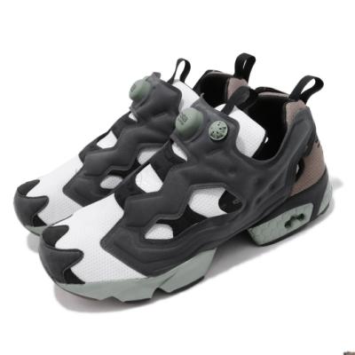 Reebok 休閒鞋 InstaPump Fury 運動 男鞋 經典款 襪套 充氣科技 舒適 穿搭 藍 綠 FX1667