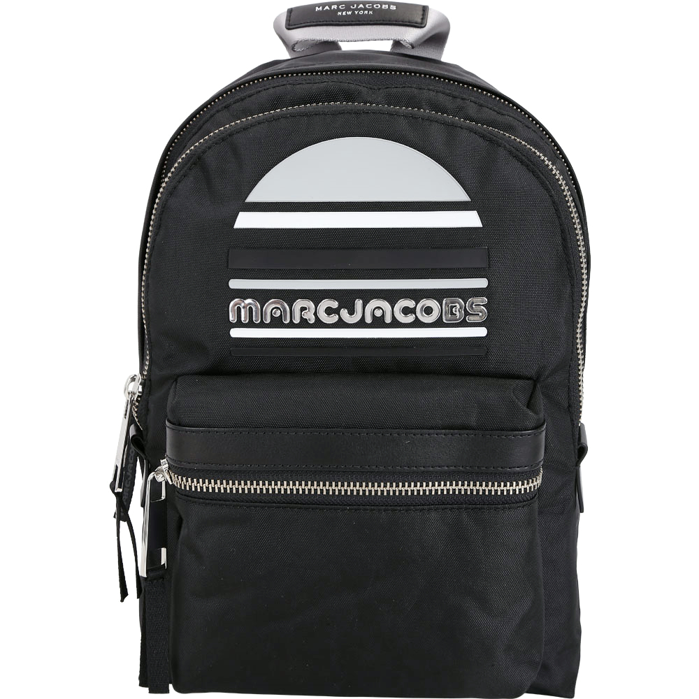 MARC JACOBS Trek Pack Sport 輕質高性能尼龍後背包(中/黑色)