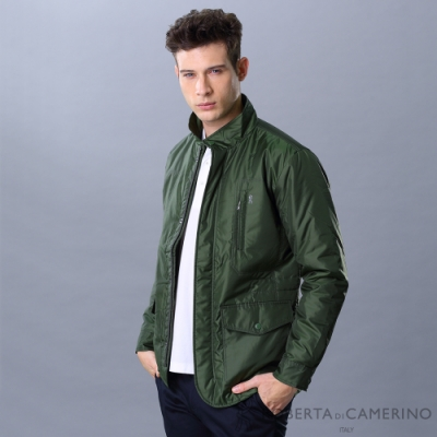 ROBERTA諾貝達 日本進口 防潑水休閒夾克外套 墨綠