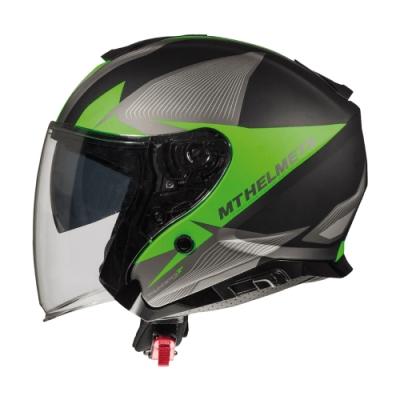 MTHELMETS MT安全帽 THUNDER3 sv Jet WNG系列消光灰綠