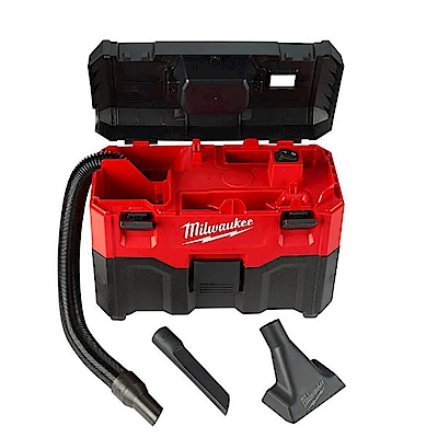 【Milwaukee 美沃奇】18V鋰電乾濕兩用吸塵器第二代M18VC2-0(空機-不含電池及充電器