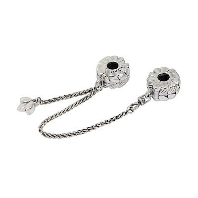 Pandora 潘朵拉 魅力麥穗安全錘鍊安全扣 純銀墜飾