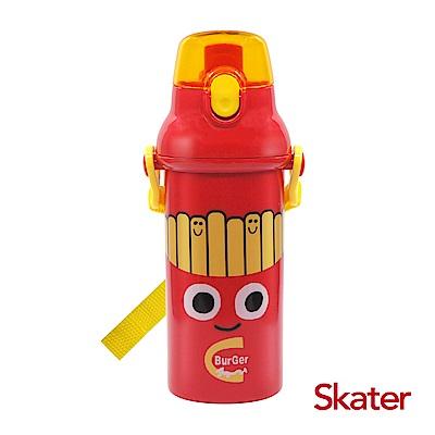 Skater銀離子(480ml)水壺BURGER CONX薯條弟