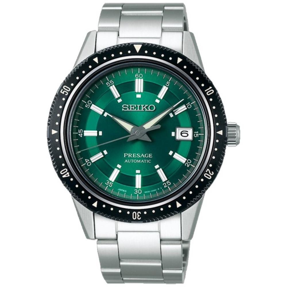 SEIKO 精工 PRESAGE自動上鍊藍寶石錶-41.3mm(SPB129J1)