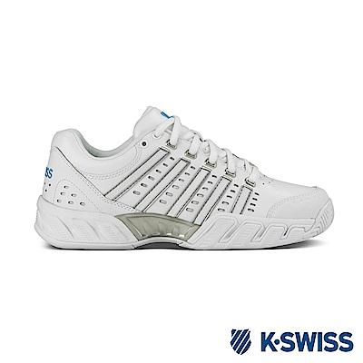 K-Swiss Bigshot Light  LTHR專業網球鞋-女-白/水藍