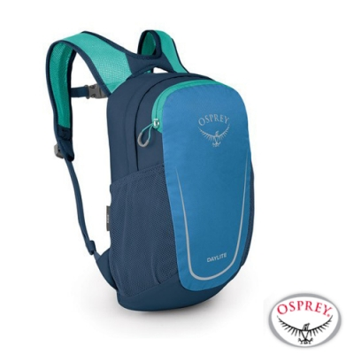 OSPREY Daylite Kid 10L 輕量護體減震透氣兒童背包/書包_波紋藍 R