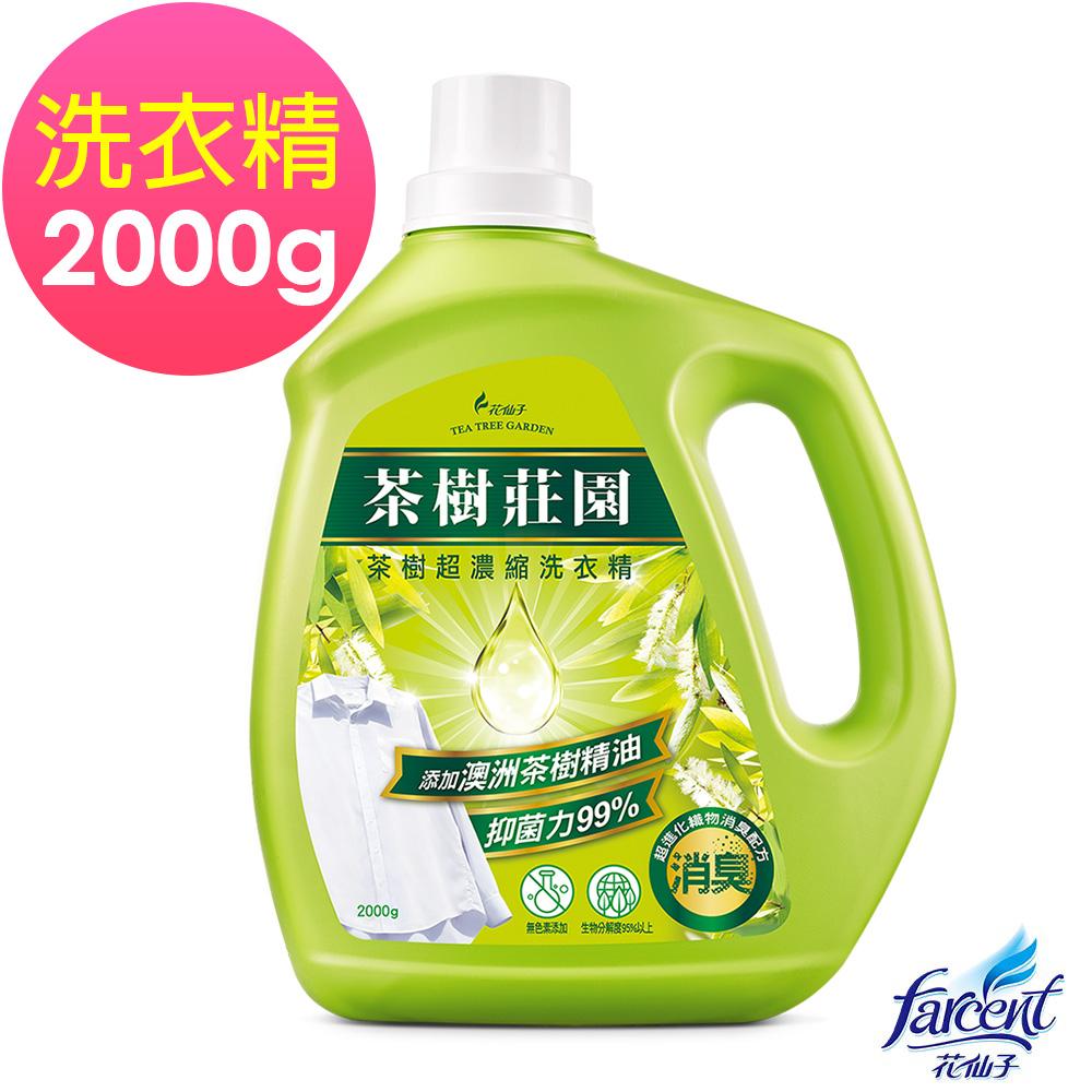 茶樹莊園 茶樹超濃縮洗衣精 2000g