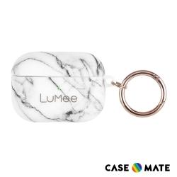 美國 LuMee AirPods Pro 時尚質感保護套 - 白大理石