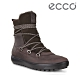 ECCO SOFT 7 TRED W 北歐暖冬時尚保暖高筒雪靴  女鞋 咖啡色 product thumbnail 1