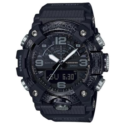 CASIO 卡西歐G-SHOCK 藍芽防塵泥雙顯錶樹脂錶(GG-B100-1B)