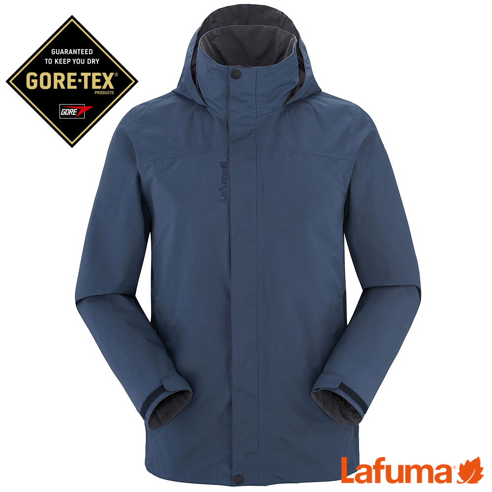 LAFUMA-男RAMBLER GTX 防水外套-LFV114046730-深藍