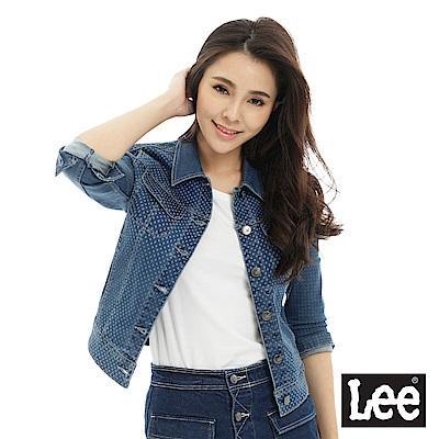 Lee Body Optix牛仔外套/BO-中藍色-女款