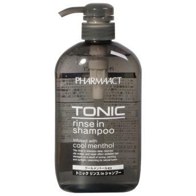 熊野油脂 Pharmaact 清涼潤絲洗髮精(600ml)