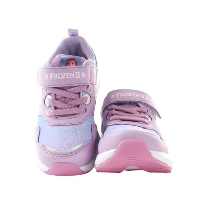 魔法Baby 女童鞋 迪士尼冰雪奇緣正版閃燈運動鞋 電燈鞋 sa14217