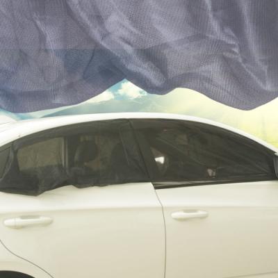 休旅車 車用防蚊罩/遮陽罩(前窗2個+後窗2個)