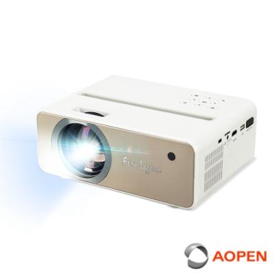 AOPEN 1080p高畫質 個人無線劇院投影機 QF12