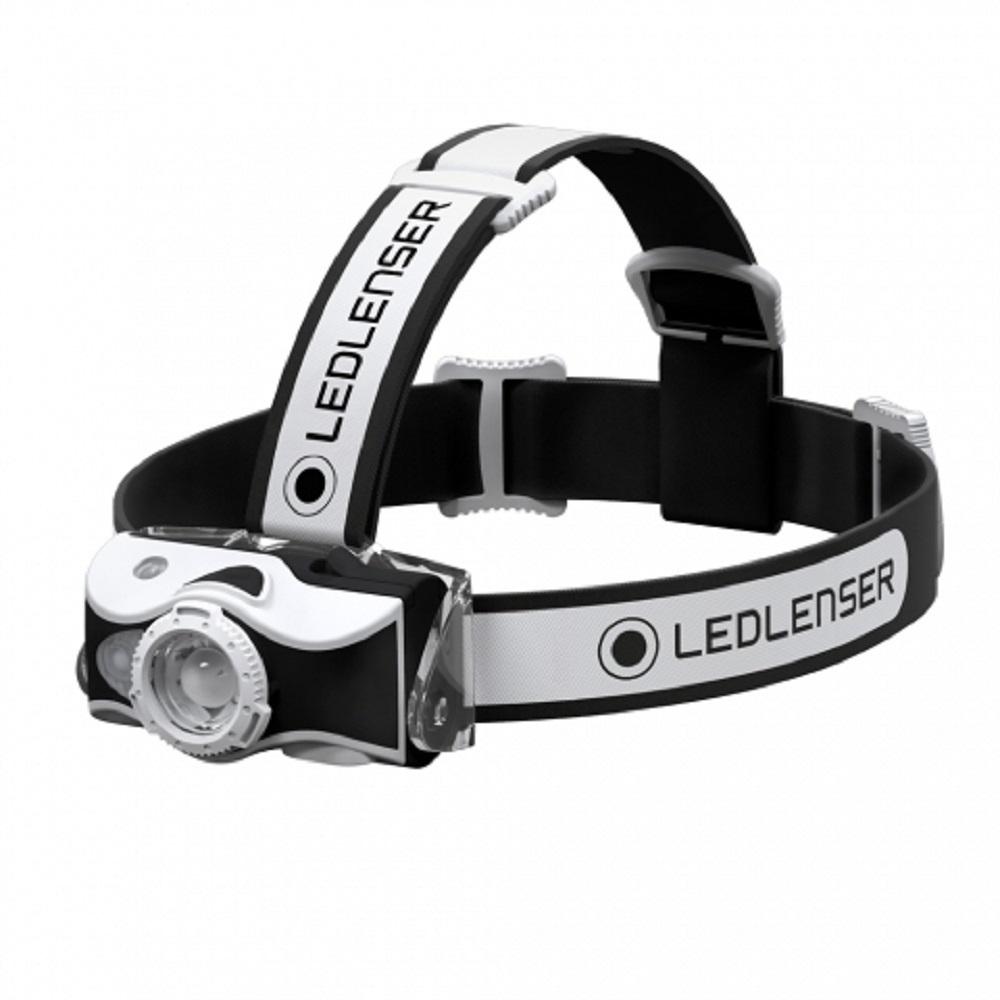 LED LENSER MH7 專業伸縮調焦充電型頭燈 600流明 黑/白