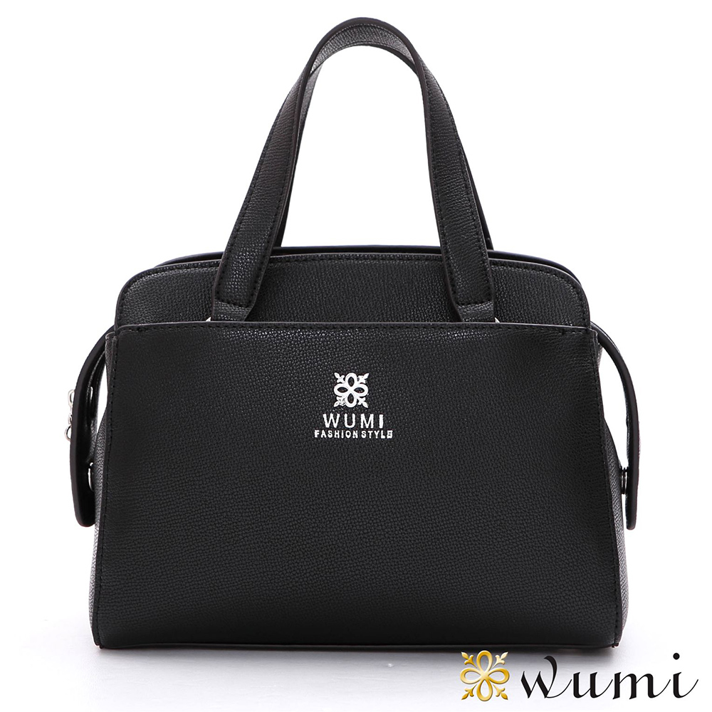 WuMi 無米 羅琳亞極簡手提包 香奈黑