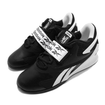Reebok 訓練鞋 Legacy Lifter II 男鞋 健身房 重量訓練 支撐 運動 球鞋 黑 白 FU9459