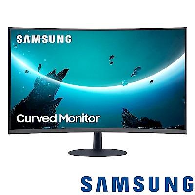 SAMSUNG C27T550FDC 27型1000R曲面螢幕