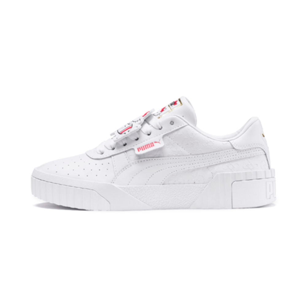 PUMA-Cali X HK Wn's 女性復古休閒鞋-白色