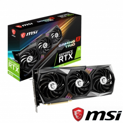 MSI GeForce RTX3070 GAMING X TRIO 顯示卡