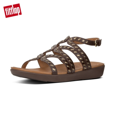 FitFlop STRATA GLADIATOR SANDALS 咖啡色