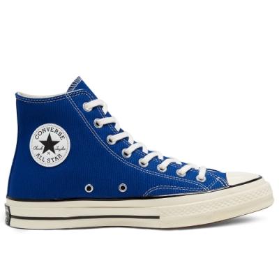 CONVERSE CHUCK 70 HI 高筒休閒鞋 男女 藍-168509C