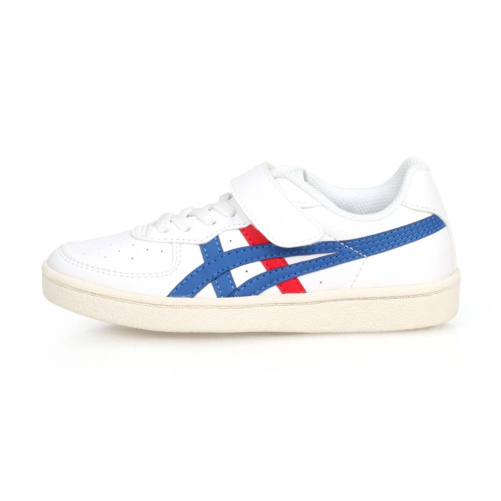 ASICS 中童休閒運動鞋 GSM PS 白藍紅