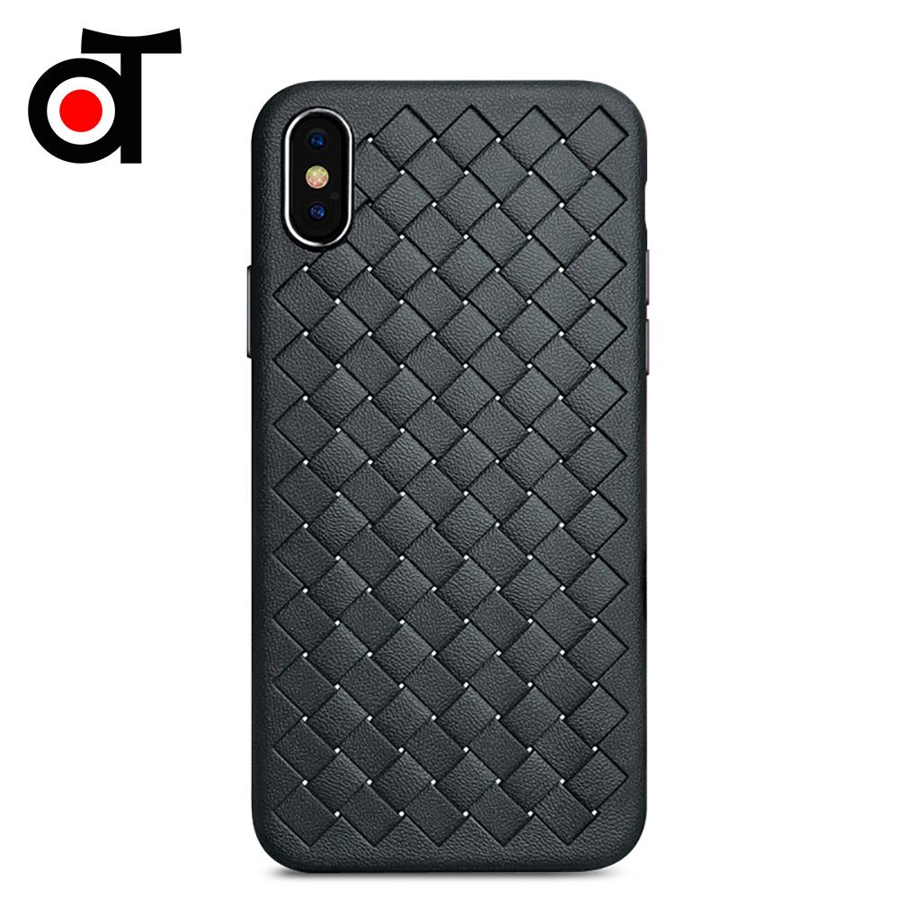 iPhone Xs Max 經典BV編織防撞保護殼