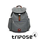 tripose MEMENTO系列微皺尼龍經典輕量後背包(大)優雅灰
