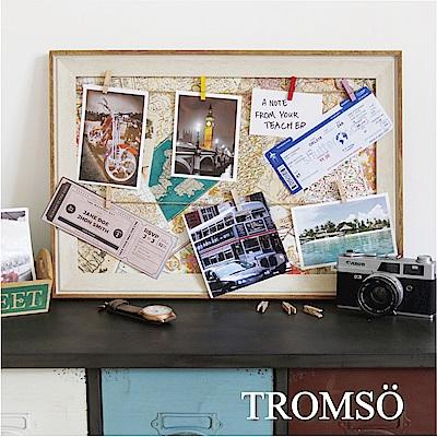 TROMSO質感生活 木夾子佈告欄照片框-旅遊地圖