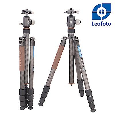 Leofoto徠圖-LX-284CT+XB-38碳纖反摺輕便三腳架雲台套裝