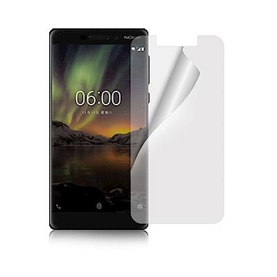 NISDA NOKIA 6 (2018) 5.5吋 高透光抗刮螢幕保護貼-非滿版